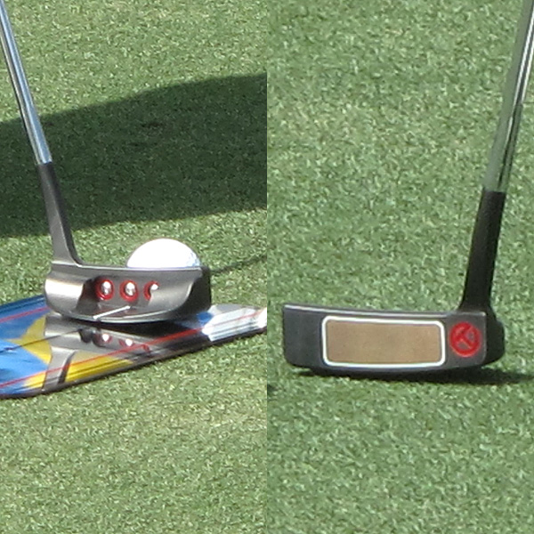 Rory McIlroy  has a prototype Scotty Cameron for Titleist Del Mar putter in his bag this week.