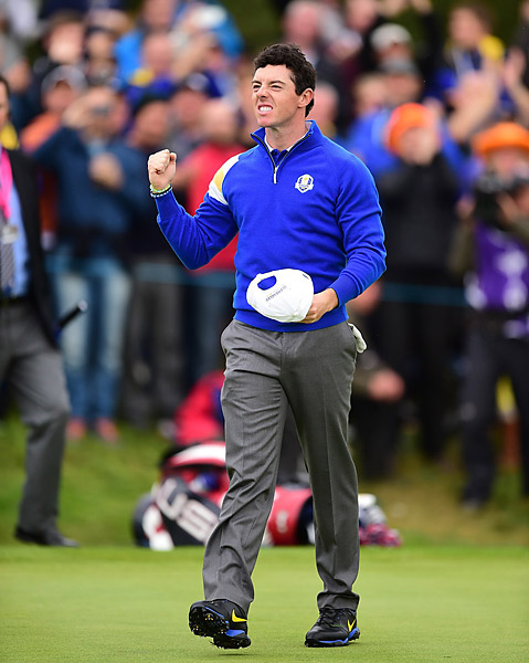 Beginning the day with a large 10-6 lead, Team Europe never looked back, rolling to an easy victory in Sunday singles to retain the Ryder Cup.
