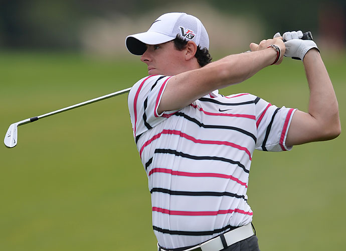 Thursday                           After a strong finish at the Korea Open and a win over Tiger Woods in an exhibition match at Mission Hills, Rory McIlroy continued down the comeback trail Thursday, taking a 2-shot lead after one round at the HSBC Champions.