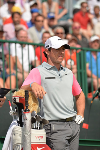 Rory McIlroy will have his first chance at the career slam next April in the Masters at Augusta National.