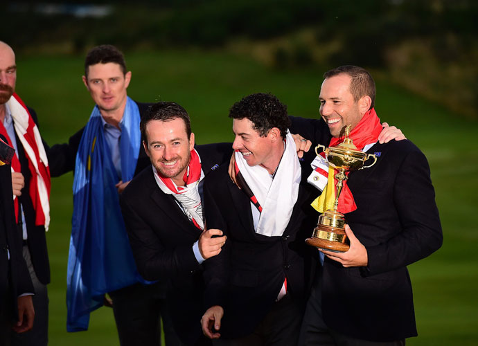 Rory capped his season by helping Team Europe retain the Ryder Cup in a 16.5-11.5 victory over the Americans at Gleneagles. The final tally from his magical 2014 season included $8,280,096 in official PGA Tour prize money, two major championships and 12 top-10 finishes in 17 events.