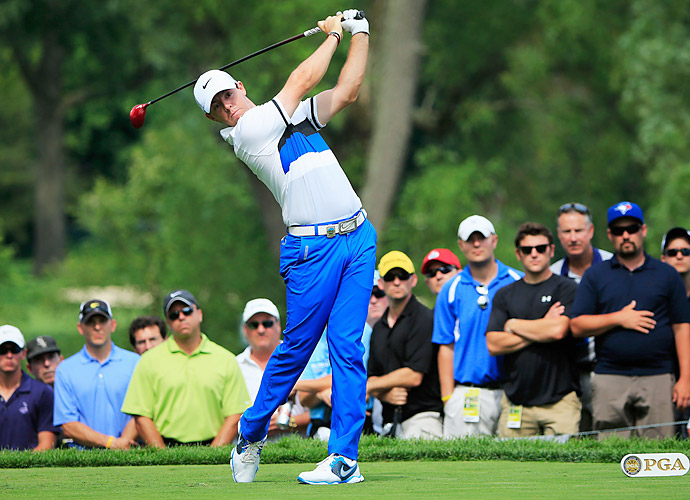 Rory McIlroy had a roller-coaster of a round.
