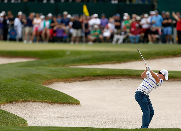 McIlroy made bogey at the second and double bogey at the eighth.