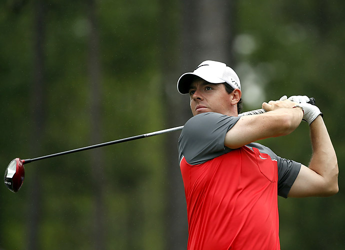 McIlroy was five behind the leaders at the end of the round.