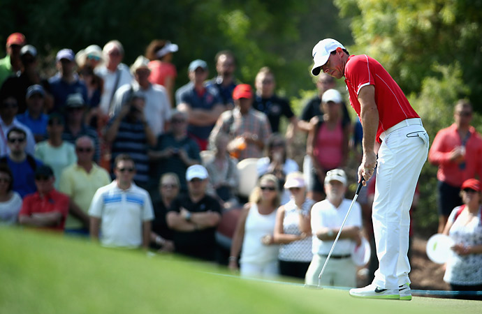 McIlroy had six birdies and no bogeys on Thursday.