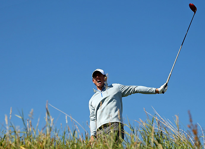 FRIDAY                       After taking the lead in the first round, Rory McIlroy collapsed in the second, shooting a 78 to fall to even par.
