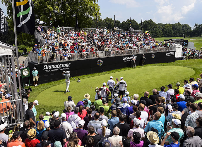 Akron, Ohio                           Northeast Ohio fans have become a bit spoiled over the years, thanks to superior fields every year for the WGC-Bridgestone, but they haven't become complacent. They return in massive numbers to see the game's greats duel with Firestone's South course, and to see if Tiger can finally win that elusive ninth title.