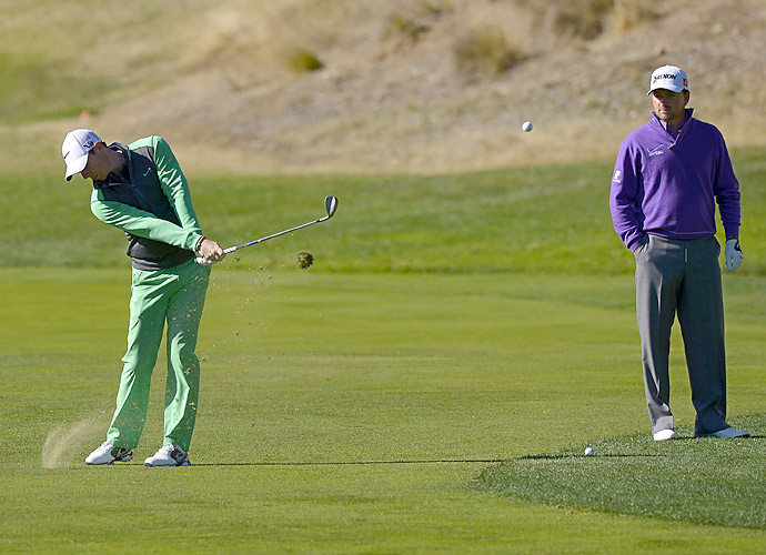 Rory McIlroy started well but finished with a one-over 73.