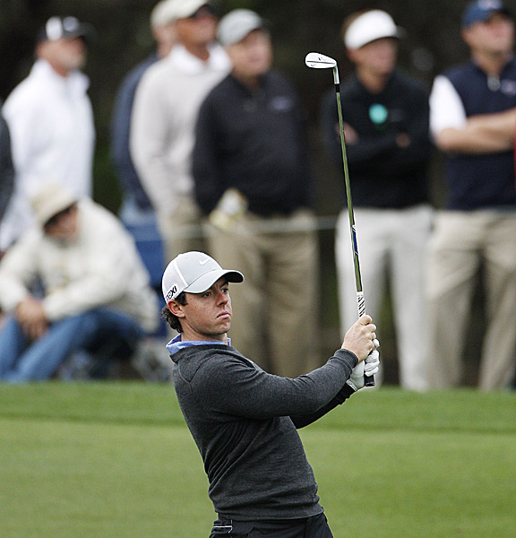 McIlroy's round included four birdies and four bogeys.