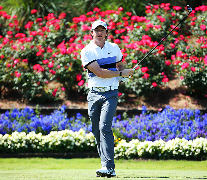 McIlroy had six birdies on the day.