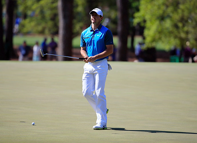 McIlroy shot 71 Saturday, but it wasn't enough, leaving him at +3 for the tournament.