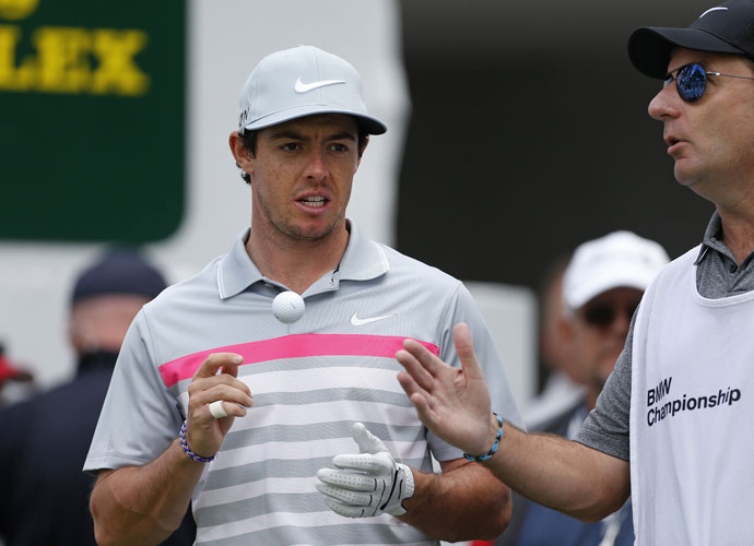 Rory McIlroy made just one bogey on the 7,352-yard layout at Cherry Hills.