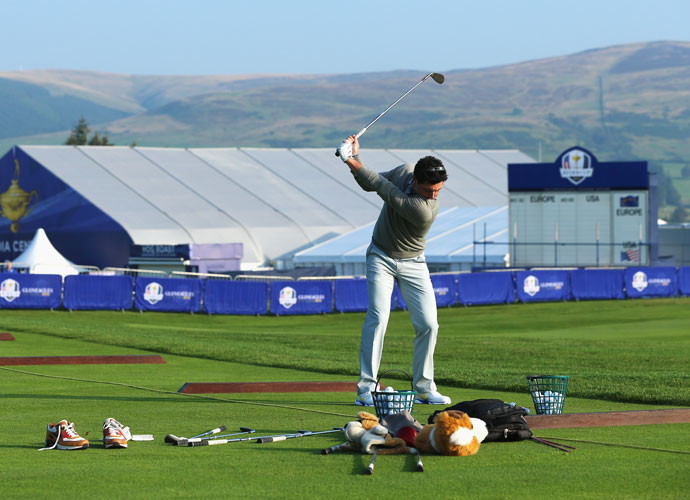 Four-time major champion Rory McIlroy will be playing in his third Ryder Cup.