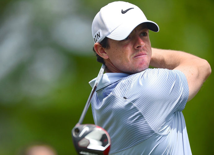 Rory McIlroy shot a 3-under 69 and was within three shots of the lead after the first round.