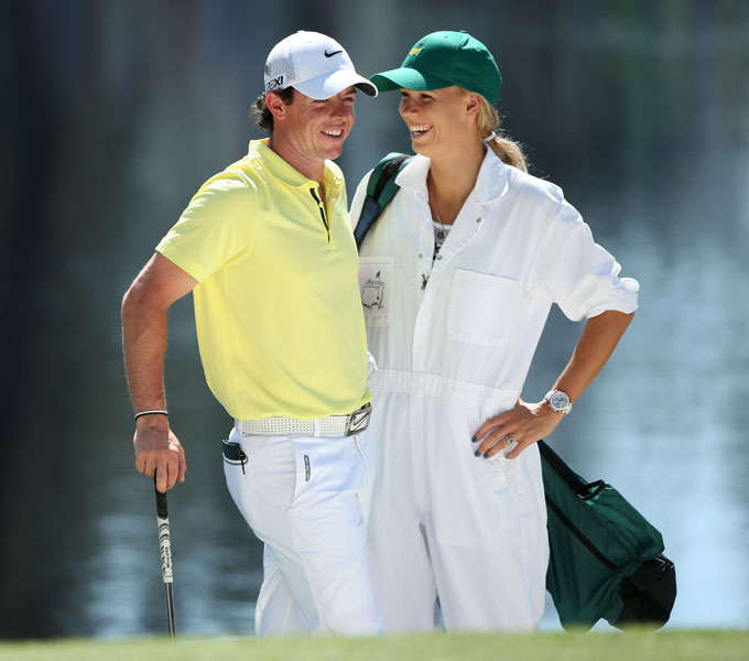 McIlroy and Wozniacki have been dating for more than a year.