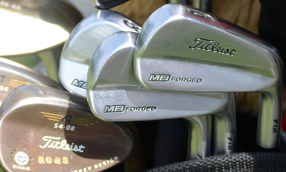 1. Rory McIlroy (Northern Ireland)                           Titleist 712MB (3-9) with Project X 6.5 shafts