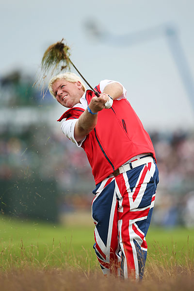 Daly broke out this appropriate ensemble at the 2012 Open Championship.