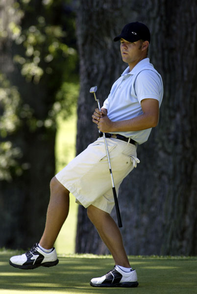 Ryan Moore at the 2004 U.S. Amateur Championship.