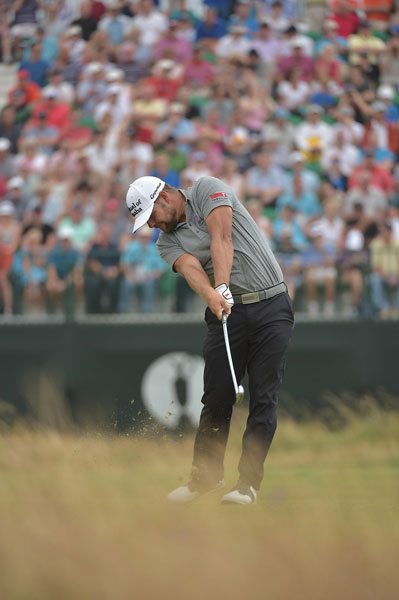 Ryan Moore played himself into contention with a second-round 68, good for a T3 at -6, six shots back of Rory McIlroy.