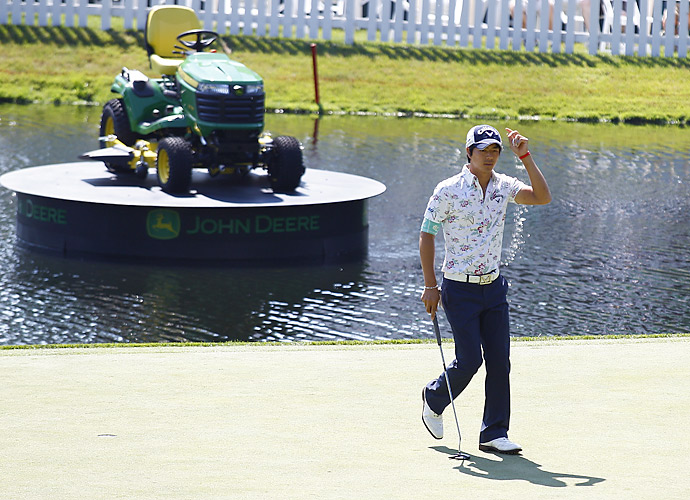 Ishikawa's best finish on Tour this season is a T10 at the Byron Nelson.