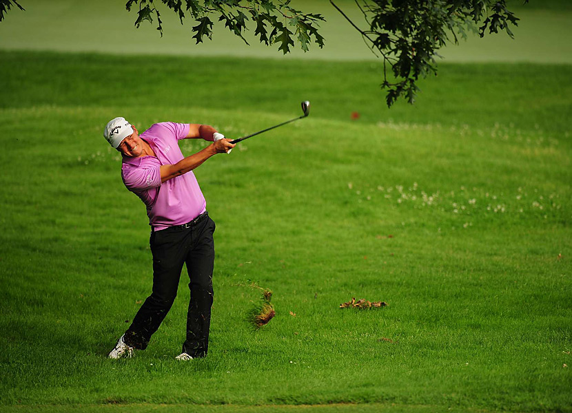 Fredrik Jacobson finished tied for eighth.
