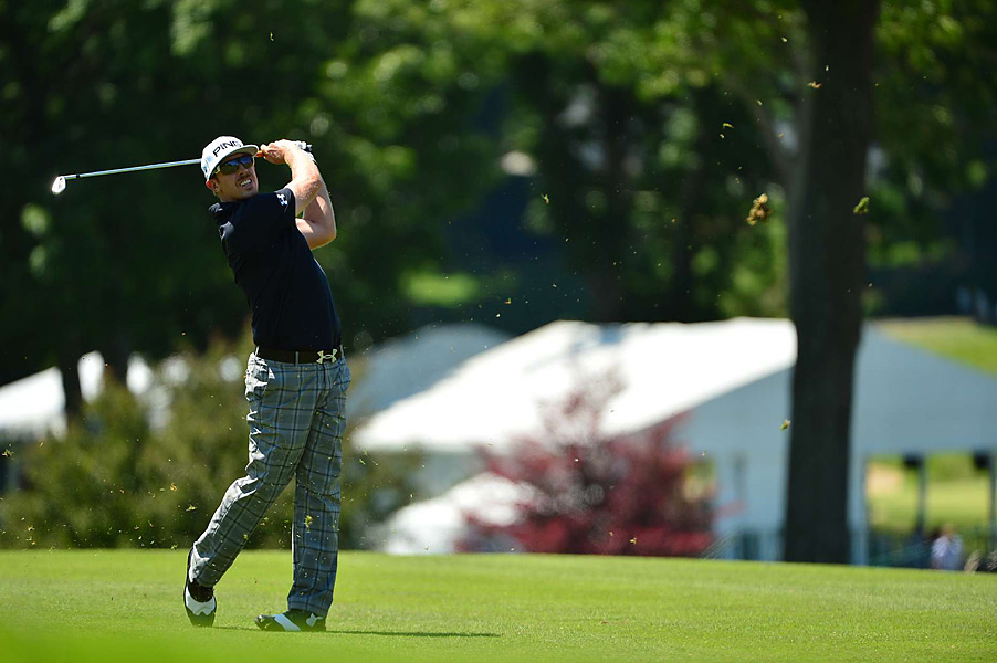 Hunter Mahan shot a career-best 61 on Sunday and finished T11.