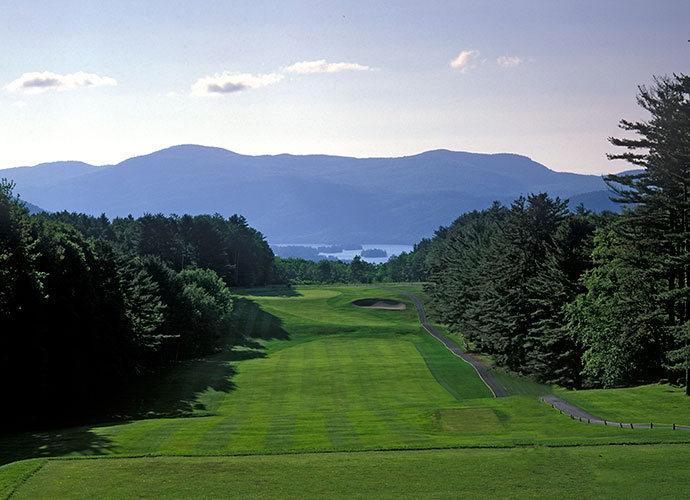 8. The Sagamore, Bolton Landing, N.Y.: Ross' flair for option-laden design is on full display amid holes carved from the Adirondack Forest Preserve, with mountain backdrops to boot.