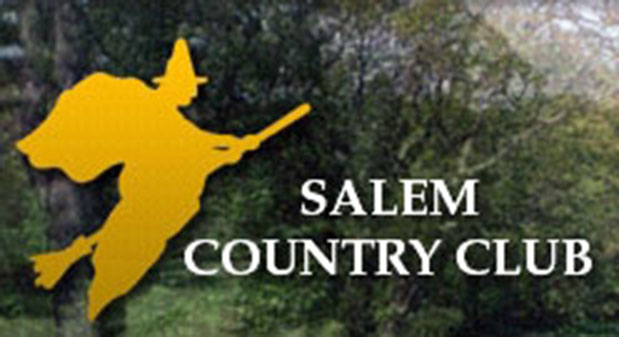 Salem Country Club in Peabody, Mass., pays tribute to the area's most famous export. We approve, though we would have swapped out the broomstick for a boom stick.