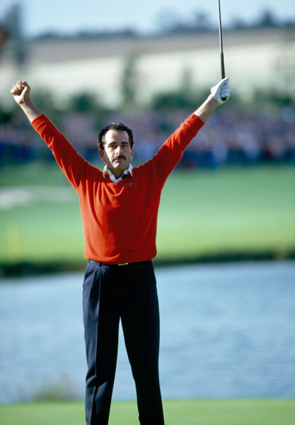 10. 1985; Europe 16 ½ U.S. 11 ½                           Hardly the closest or most dramatic match, the '85 event at The Belfry in England was significant because Europe's smashing victory marked the emergence of the Ryder Cup as a genuine rivalry. Popular Sam Torrance birdied the final hole against Andy North to clinch the winning point. Going forward, the Ryder Cup became the most anticipated event in golf.