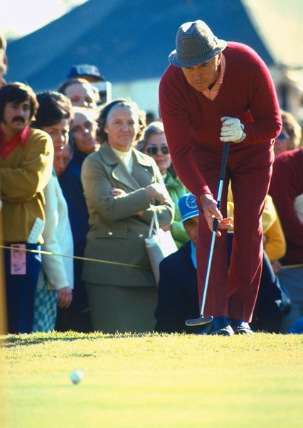 "Here is a look back at some significant moments in the evolution of the long putter.                                                                  1967                                  The USGA announced a rule (as of Jan. 1, 1968) prohibiting golfers from straddling the ball while putting, effectively banning the new croquet-style putting in use by Sam Snead (pictured). ""The game of golf was becoming bizarre,"" USGA Executive Director Joe Dey told SI. ""It was some other game, part croquet, part shuffleboard, and part the posture of Mohammedan prayer."""