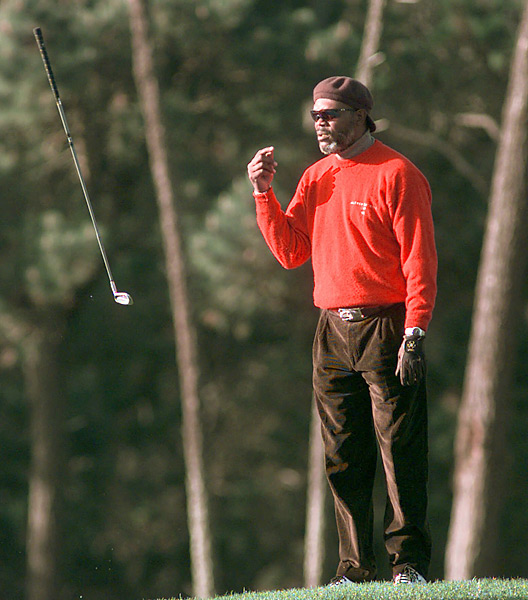 Jackson had less luck in the second round of the 1999 AT&T Pebble Beach National Pro-Am.