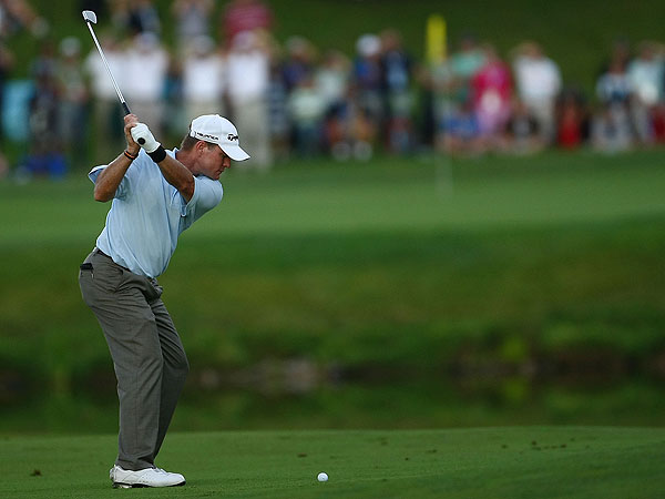 Scott Verplank shot 65. The Texan's last win on the PGA Tour at the EDS Byron Nelson Championship in 2007.