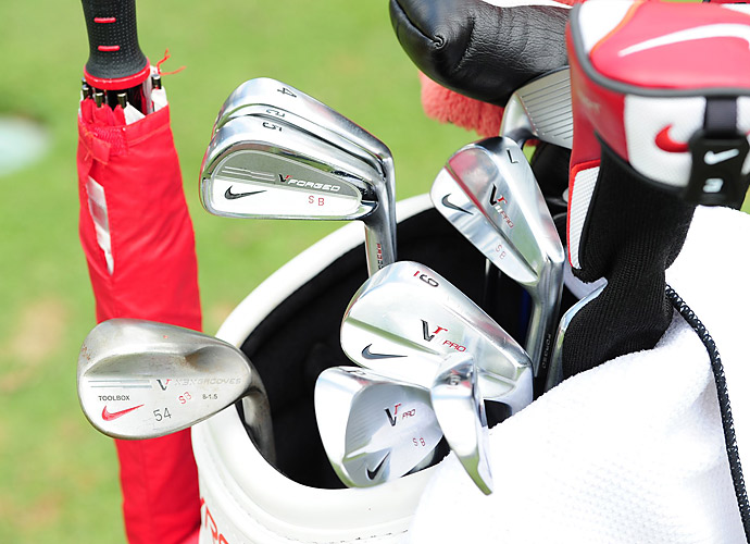 Scott Brown plays two different types of Nike irons.