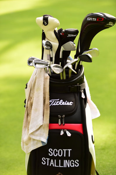 Farmer's Insurance Open champ Scott Stallings likes Titleist AP2 irons, Vokey wedges, and new 915 Series woods.