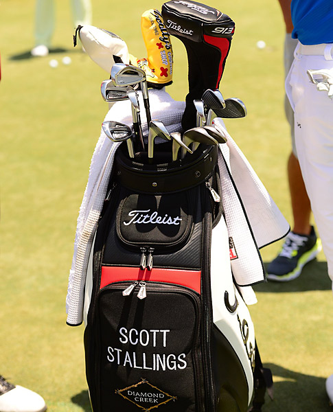Titleist staffer Scott Stallings uses AP2 irons.
