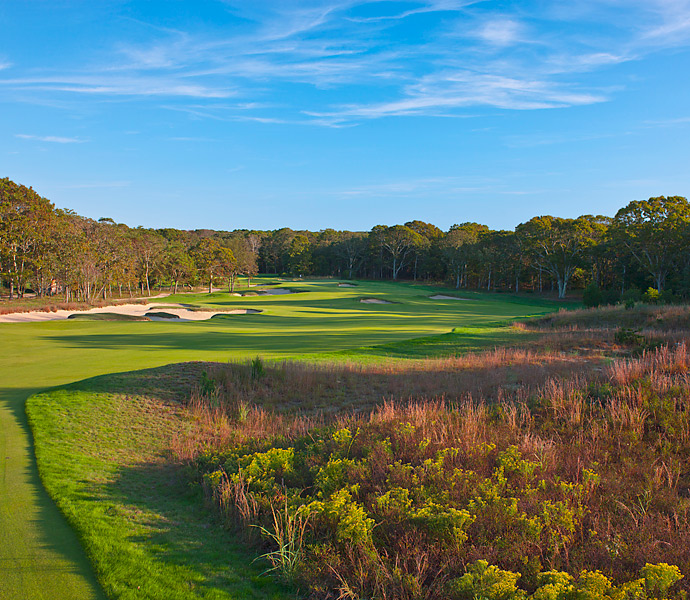 You can watch the Open on Thursday and Friday from 3-7 p.m. on ESPN2, and Saturday and Sunday from 3-6 p.m. on NBC. (Pictured: 5th Hole).