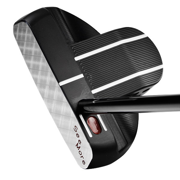 SeeMore SB2 Black/SB2w Black                       $250, seemore.com                                              SEE: Complete review, video                       BUY: SeeMore putters on Golf.com