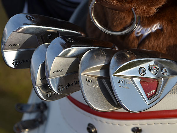 Sergio Garcia is going to win his first major this week, he'll do it using these TaylorMade TP w/xFT wedges.