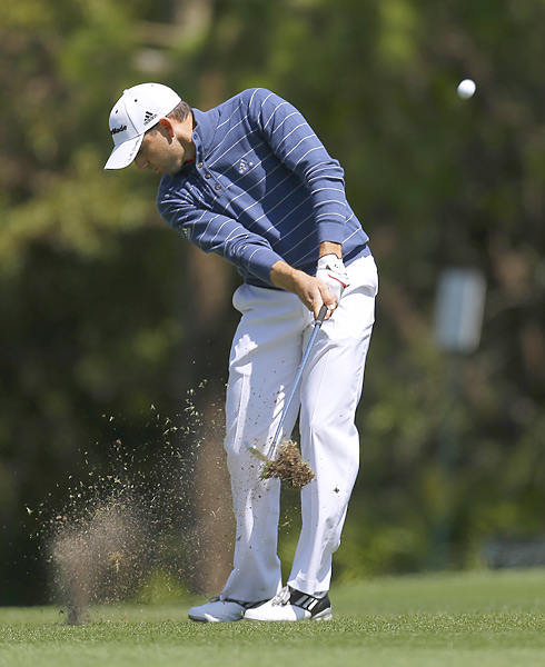 Sergio Garcia also opened with a 71.