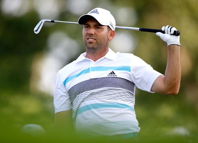 Garcia closed with a 1-over 71, and his runner-up finish bumped him to third in the Official World Golf Ranking.