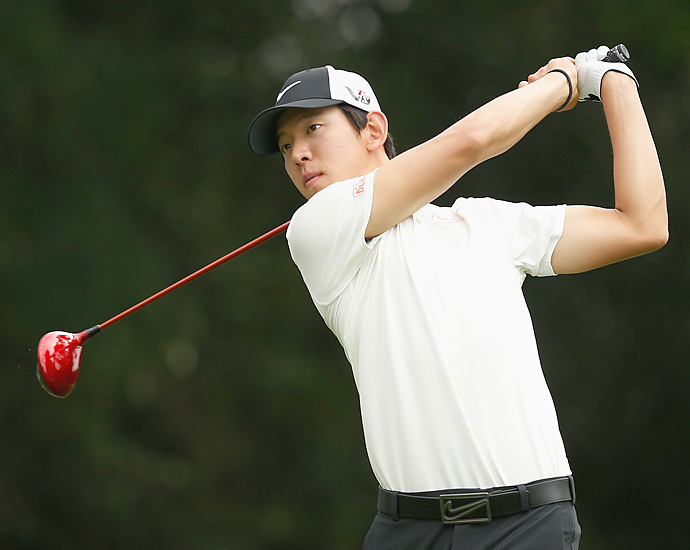 Seung-Yul Noh also shot a 69 on Thursday.