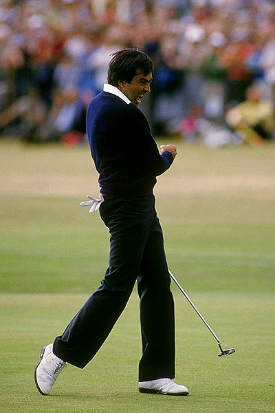 His most enduring victory came over Tom Watson at the 1984 British Open at St. Andrews, where he birdied the last hole for his second of three Open wins.