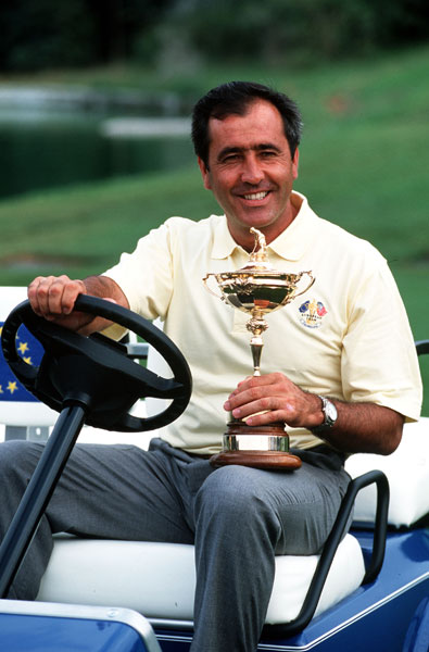 9. 1997; Europe 14 ½ U.S. 13 ½                       Tiger Woods' first Ryder Cup was also the first time the matches were held in Continental Europe -- at Spain's Valderrama -- and it turned out to be the Seve Ballesteros show. Europe's spirited Captain rallied his troops to a huge five-point lead after two days. Europe barely held on to win, but Woods' 1-3-1 record was a rocky precursor of Ryder Cups to come.