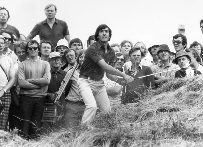 1. Seve Ballesteros                             The overwhelming choice as the greatest scrambler of all time is, of course, Seve. The charismatic, freewheeling Spaniard learned the game hitting pebbles on the beach with a discarded 3-iron tied to a stick. He won five major championships: the 1980 and 1983 Masters and the British Open in 1979, 1984 and 1988.