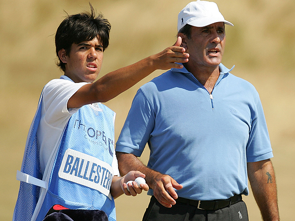 Ballesteros played the 2006 Open at Hoylake so his son Baldomero could caddie for him. Despite a long period of inactivity, Ballesteros managed a respectable first round 74 but missed the cut.