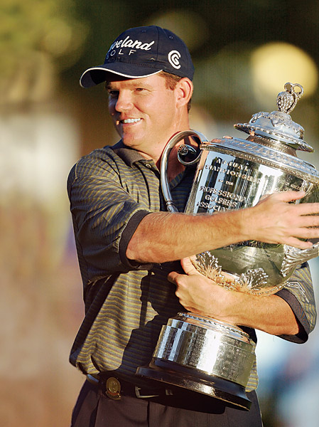 Shaun Micheel won the 2003 PGA Championship at Oak Hill Country Club in New York, which not only was his first major title, but turns out was the only PGA Tour victory of his career.