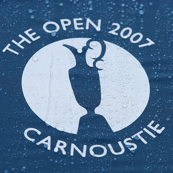 Wednesday at Carnoustie                       Welcome to summer in Scotland! Rain pelted the game's best players Wednesday during the final practice round before the 136th Open Championship. But with more rain in the forecast for later this week, at least the golfers had a chance to test their foul weather suits.