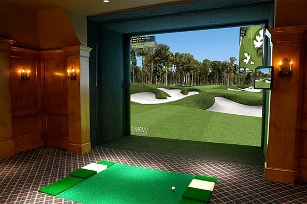 Golf's Newest Gadgets                       Some are quirky and others are creative, but each of these high-tech items is super cool.                       By Josh Sanburn                                              Full Swing Golf                        fullswinggolf.com, Prices vary with installation                       Full Swing Golf's 3-D golf simulation is arguably the best on the market, with incredible graphics and a sizable number of courses that you can play, including Pebble Beach, Oakland Hills and St. Andrews. The landscapes and detailed views of galleries and wildlife are stunning, but the system also offers real-time data such as ball speed and launch angle that can tell you a lot about your game.
