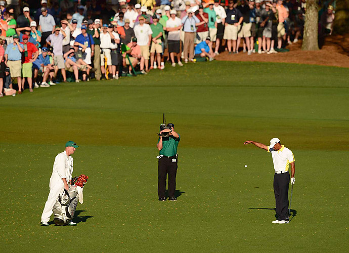 "BEST ""BREAKING BAD"" KNOCKOFF                       As in, ""That was a bad break!"" After Tiger Woods's second-round approach into the 15th green at Augusta rattled the flagstick and caromed into the water, Woods still got up and down for bogey. Alas, if his initial shot had landed an inch left or right, he would likely have been looking at less than eight feet for birdie. But the worst was yet to come."