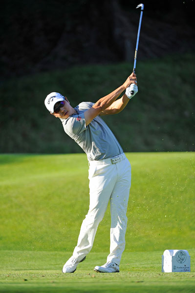Bae Sang-Moon of South Korea shot a bogey-free 66 in the second round and entered the third round a shot ahead of Aaron Baddeley and Robert Garrigus.
